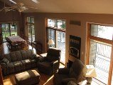 9 foot windows on main floor overlooking otter lake, rentals in Ontario and homes vacation rentals
