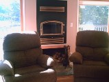 comfy chairs in beach home rental, vacation rental in Parry sound