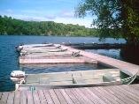 2,500 ft of waterfront on pristine Otter Lake with cottage rentals, cottages, muskoka